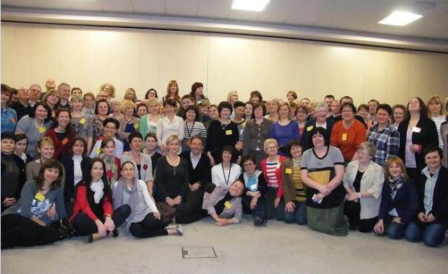 Zdjęcie grupowe uczestników warsztatów