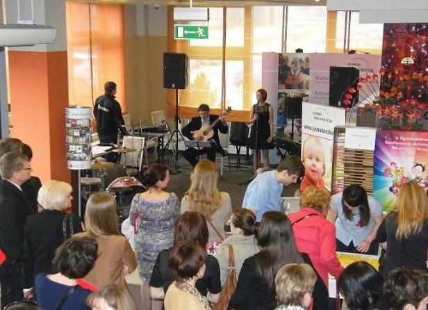 Widownia i koncert podczas warsztatów